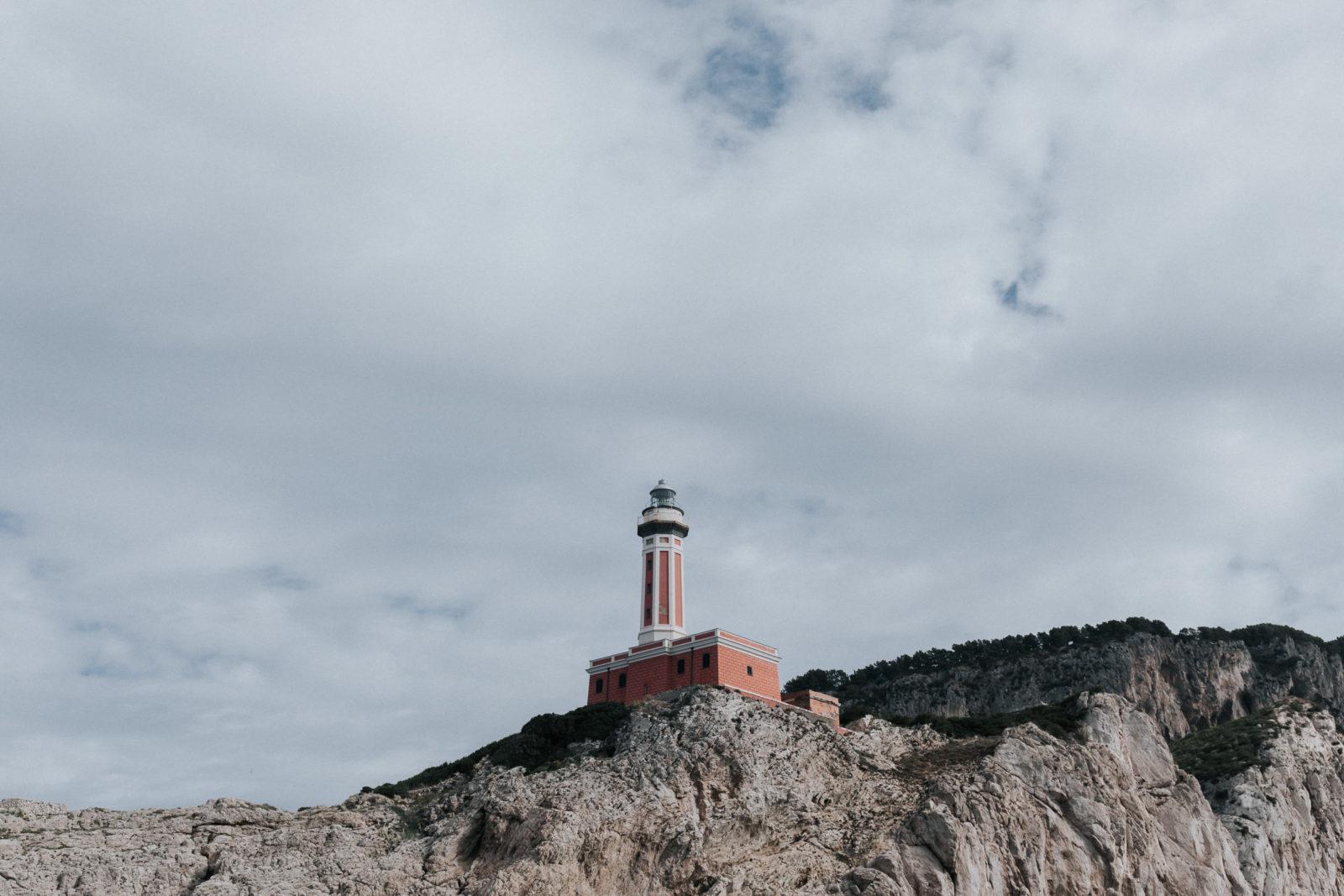 Faro di Punta Carena Leuchtturm Capri Sehenswürdigkeiten