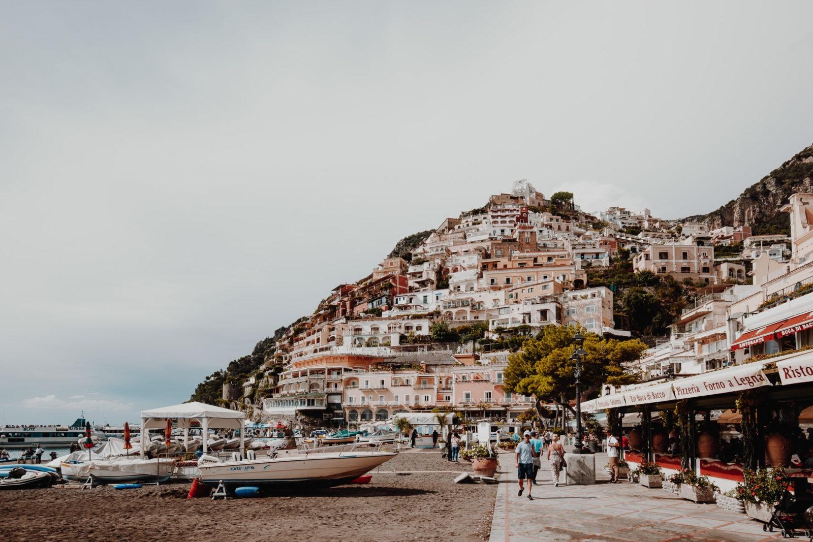 Positano Amalfitana Amalfiküste Häuser