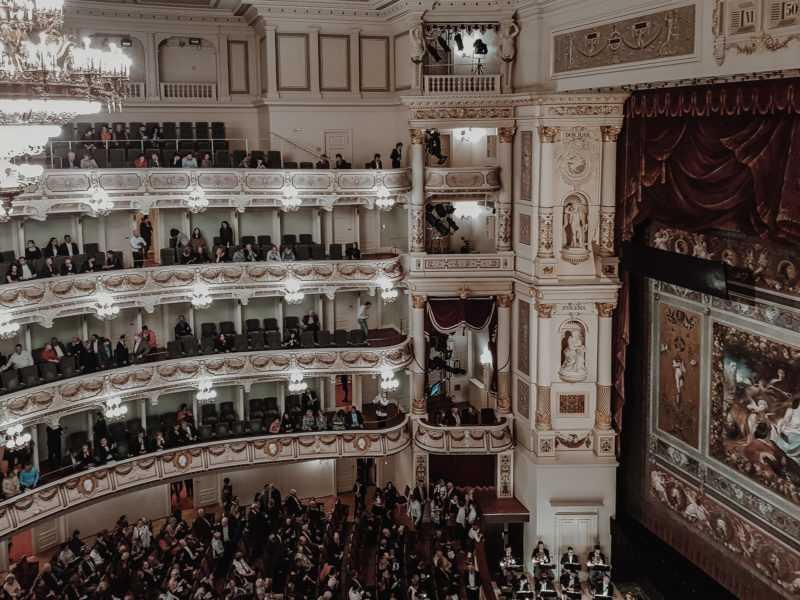 Zuschauerraum Oper