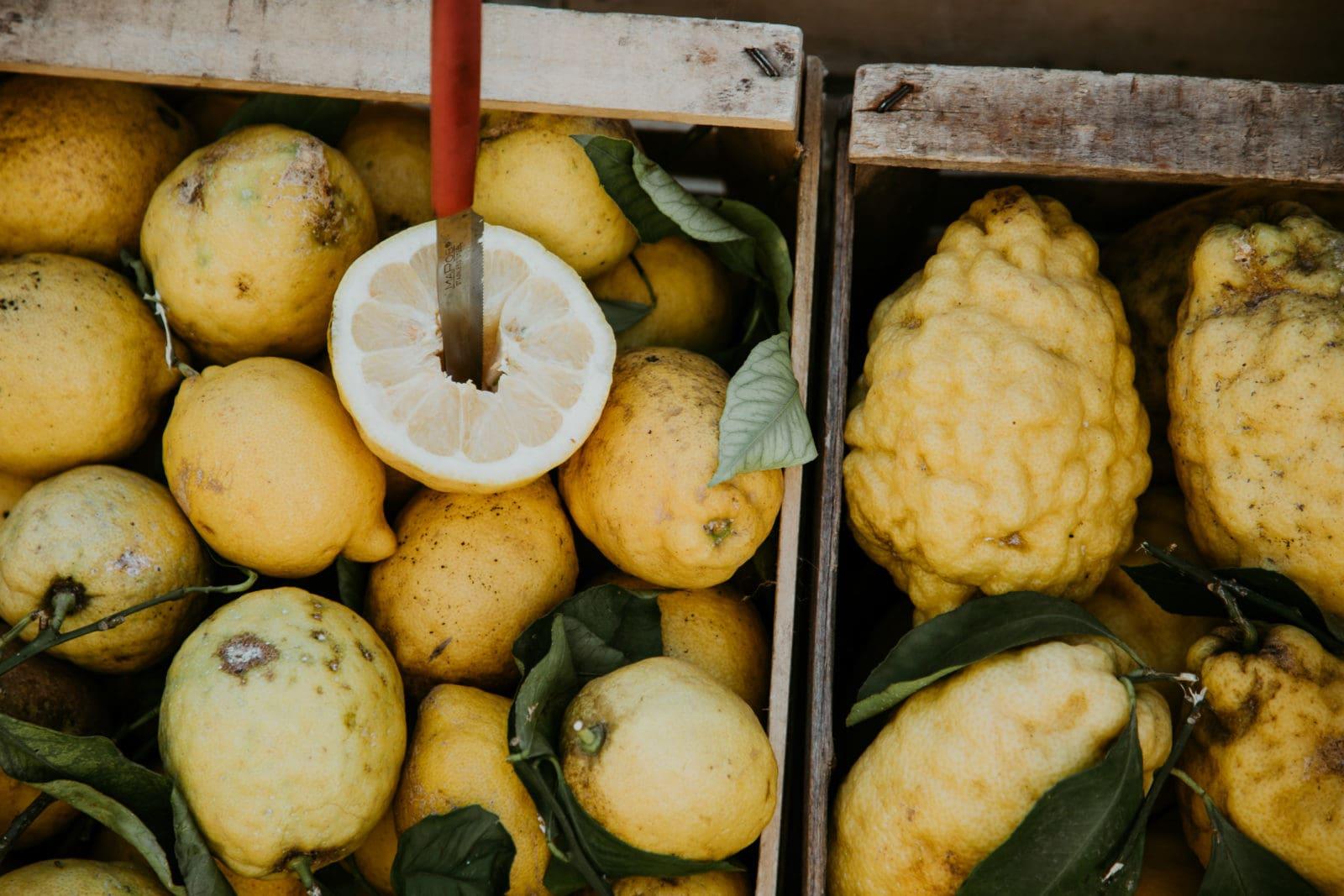Lemons from the Amalfi Coast