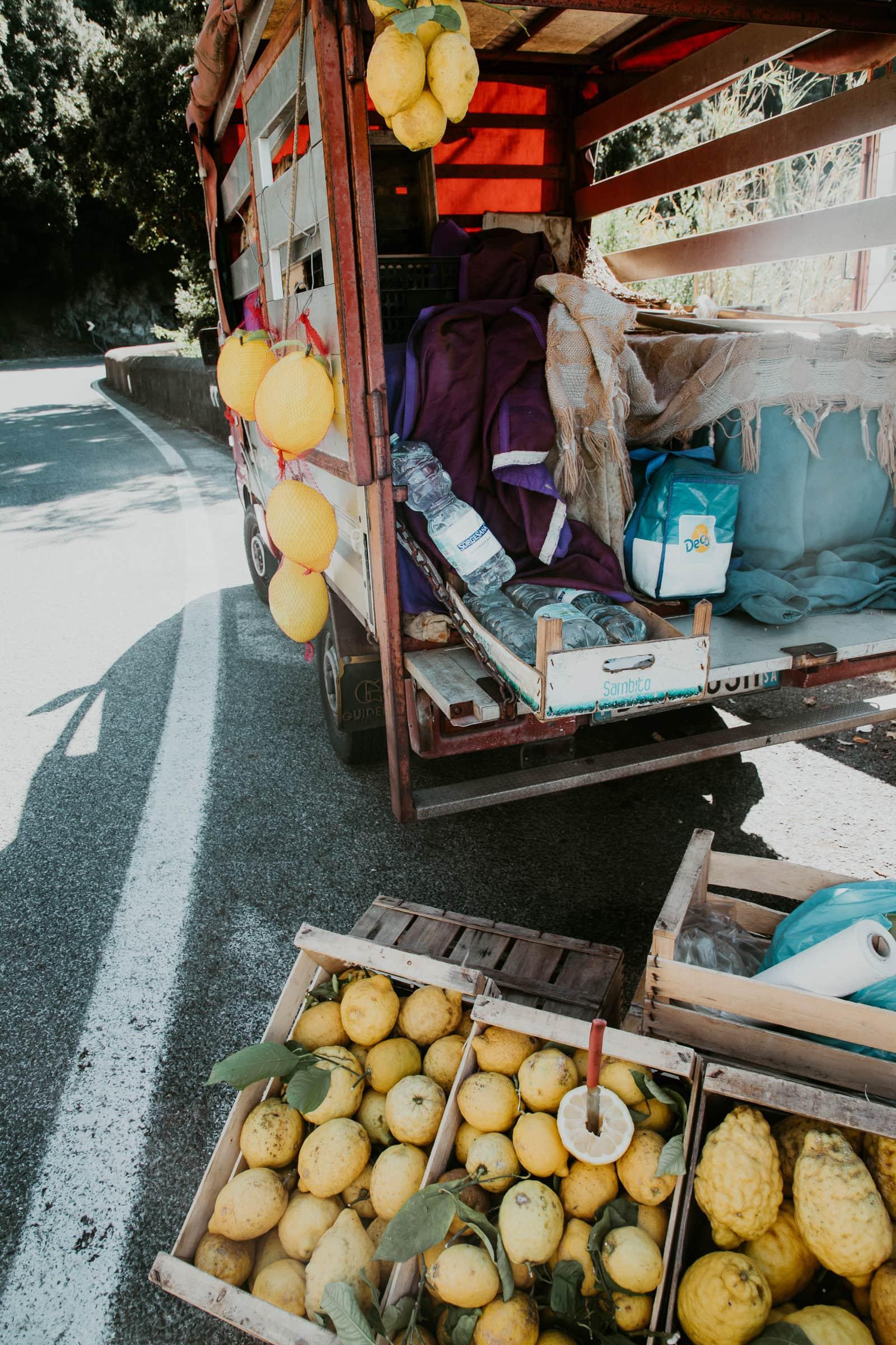 Amalfitana Zitronen Verkauf