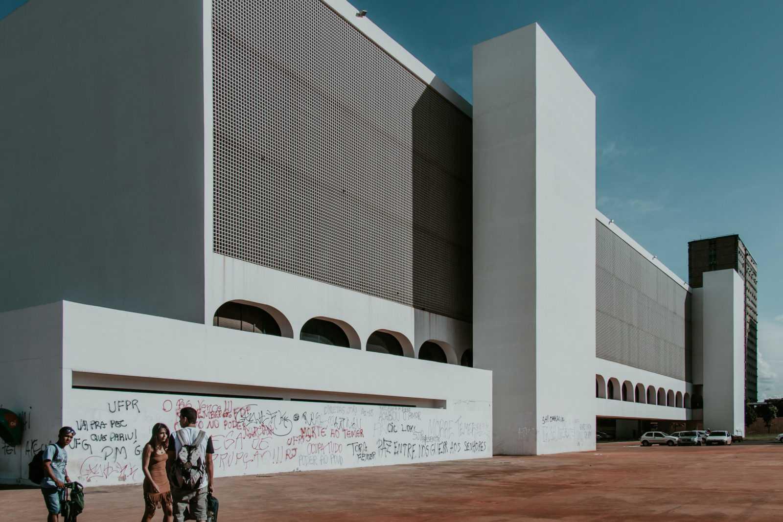 Brasilia Sehenswürdigkeiten Biblioteca Nacional