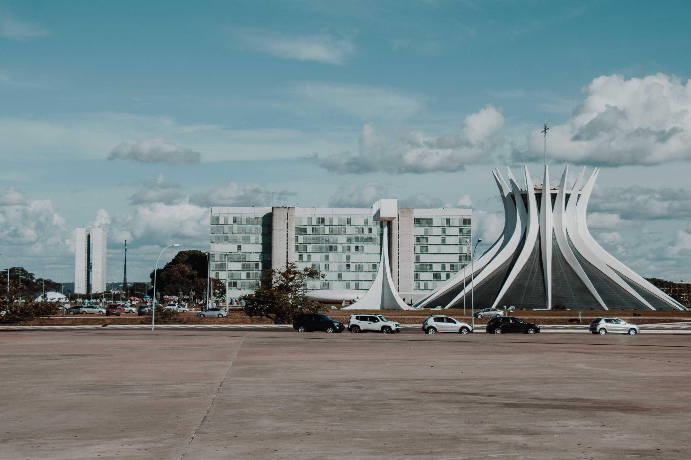 catedral metropolitana kathedrale brasilia