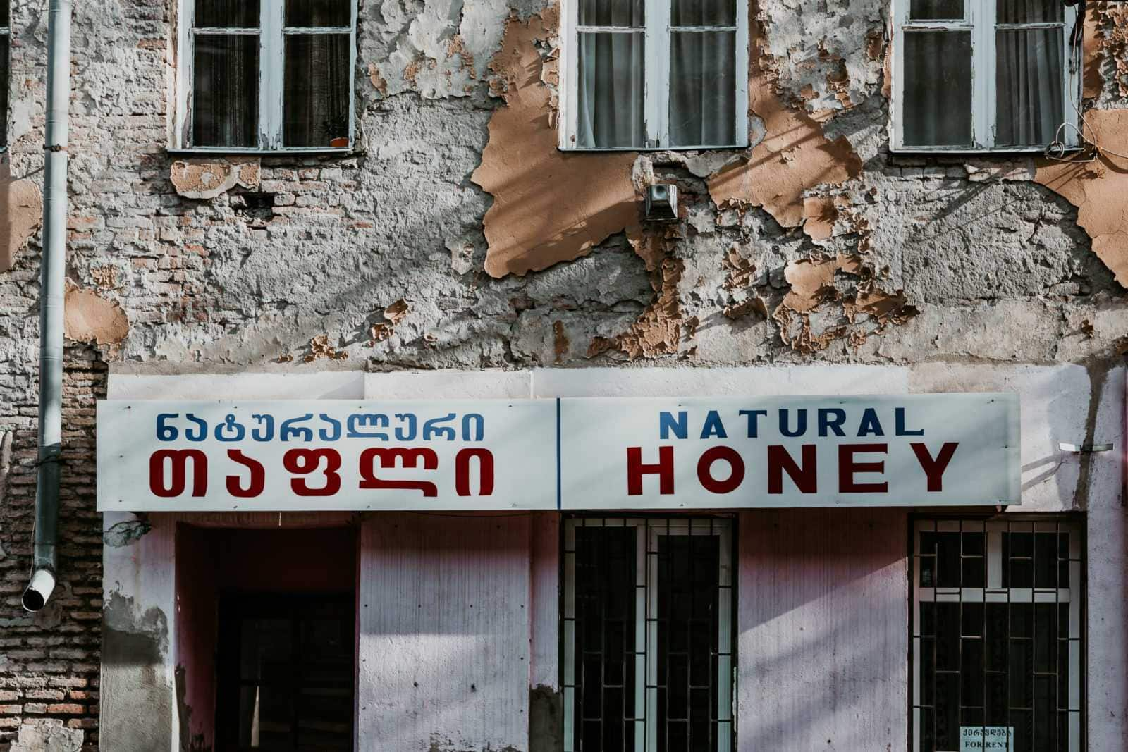 natural honey tbilisi