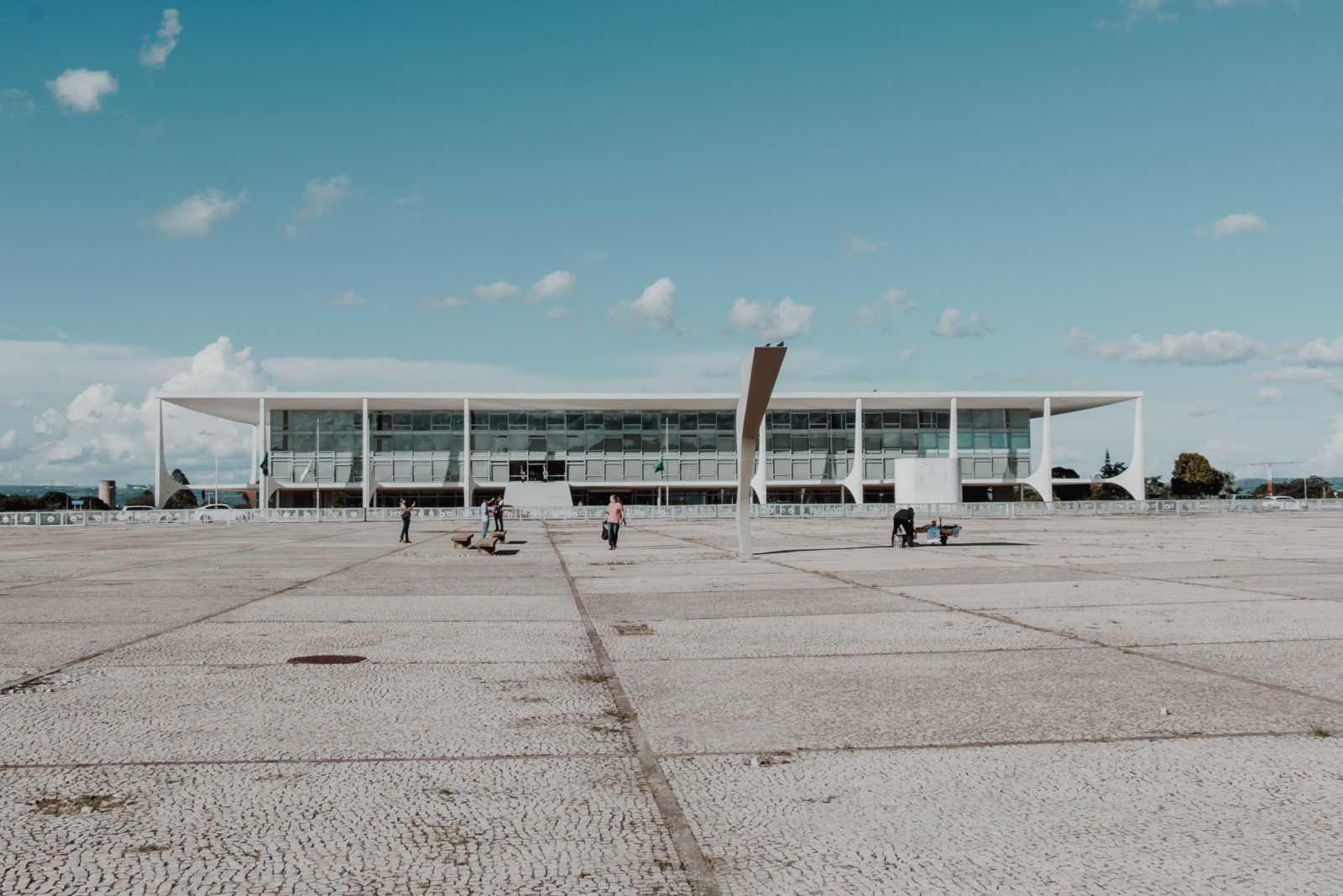 Brasilia Sehenswürdigkeiten Palacio da Alvorada Präsidentenpalast
