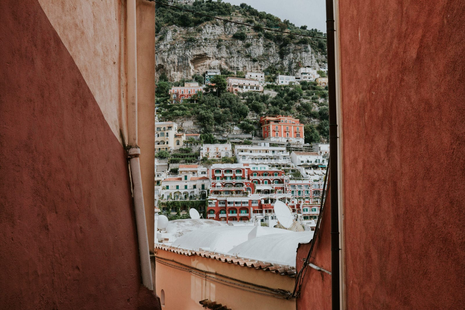Streets in Positano Italy Instagram Location
