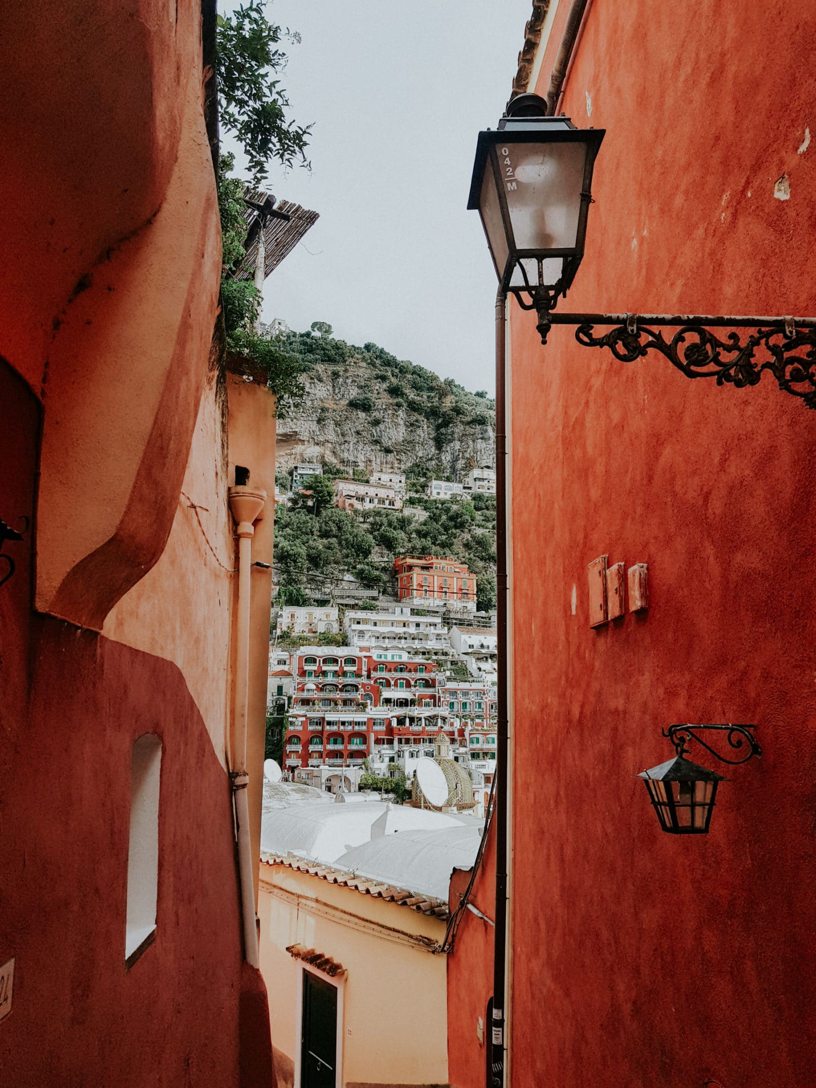Streets and Stairs in Positano Amalfi Coast