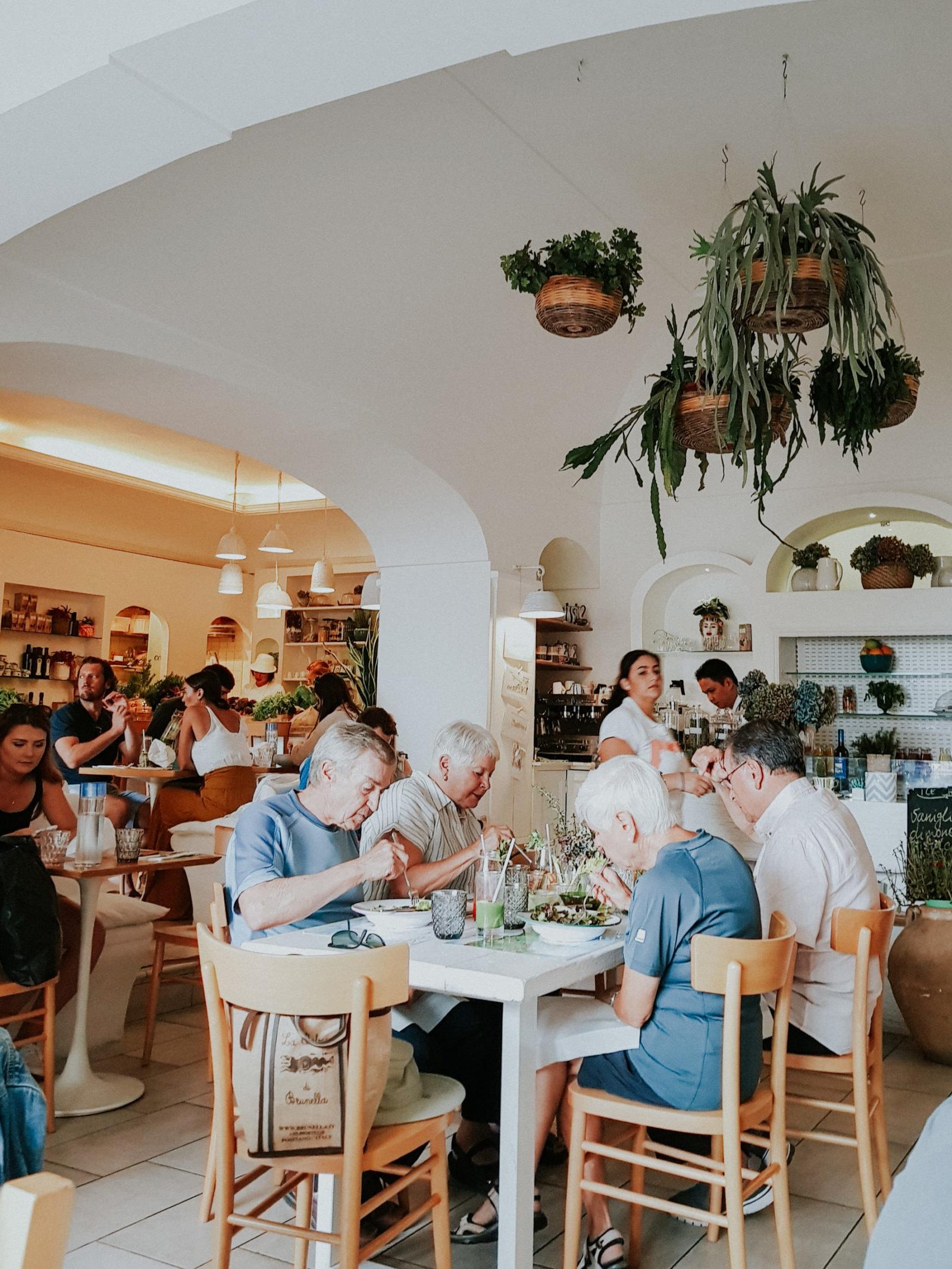 Positano Italy Restaurant Blog