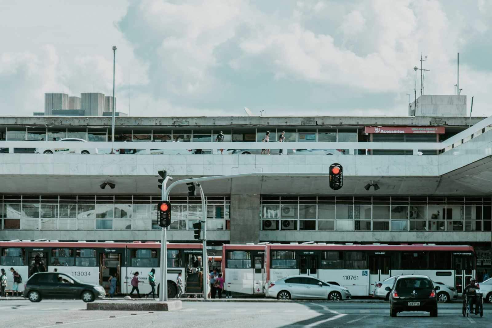 Brasilia Sehenswürdigkeiten Rodoviaria Busbahnhof