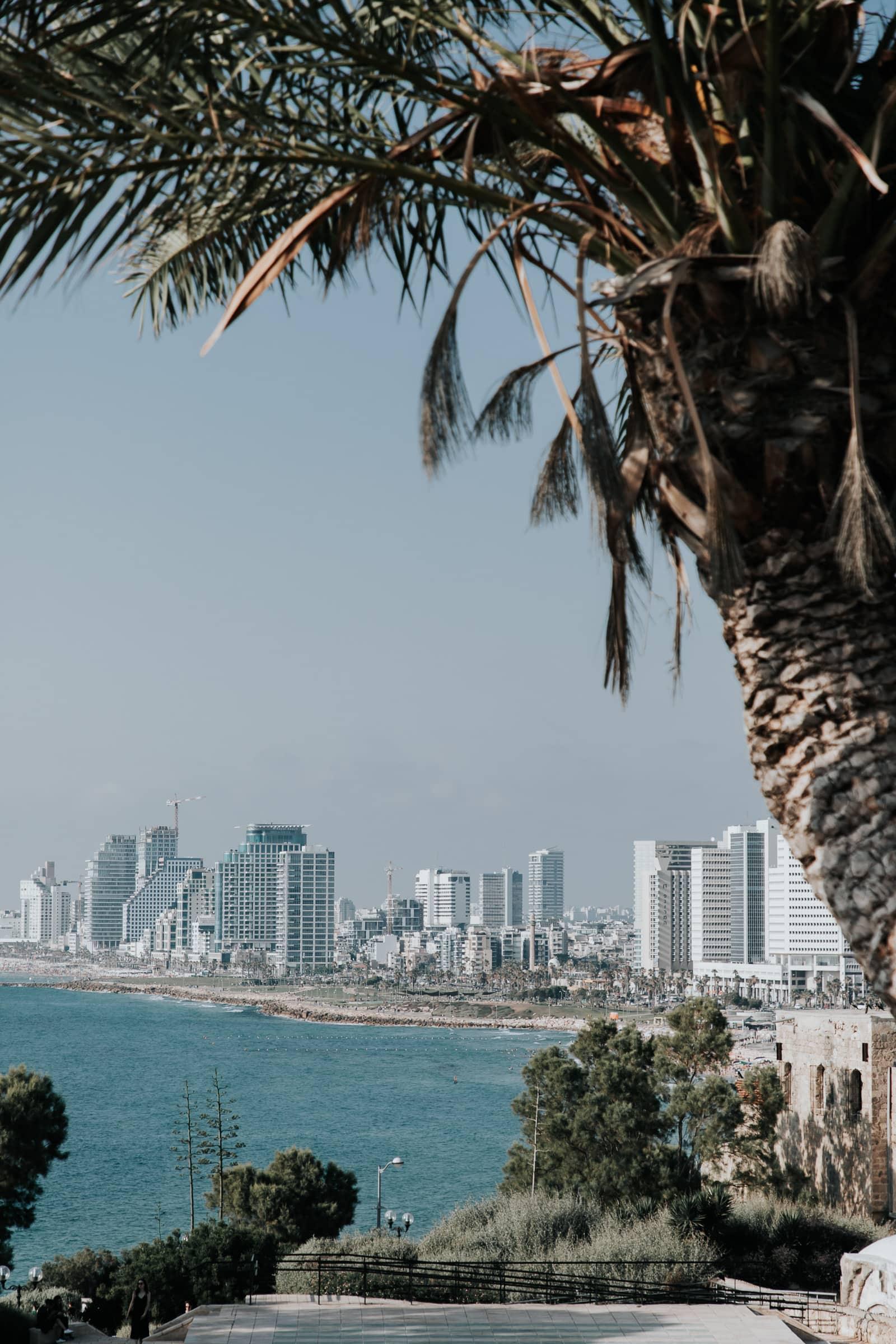 Tel Aviv Sehenswürdigkeiten Ausblick von Jaffa