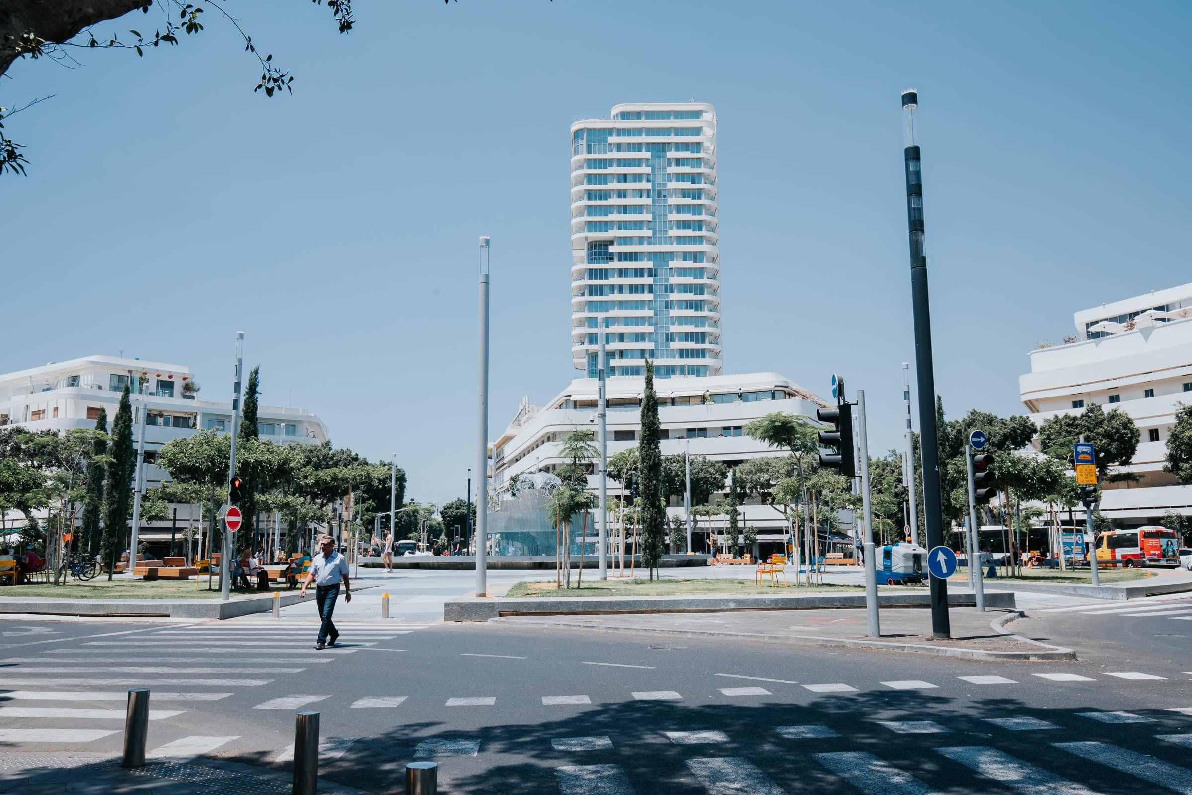 Tel Aviv Sehenswürdigkeiten Dizengoff Square