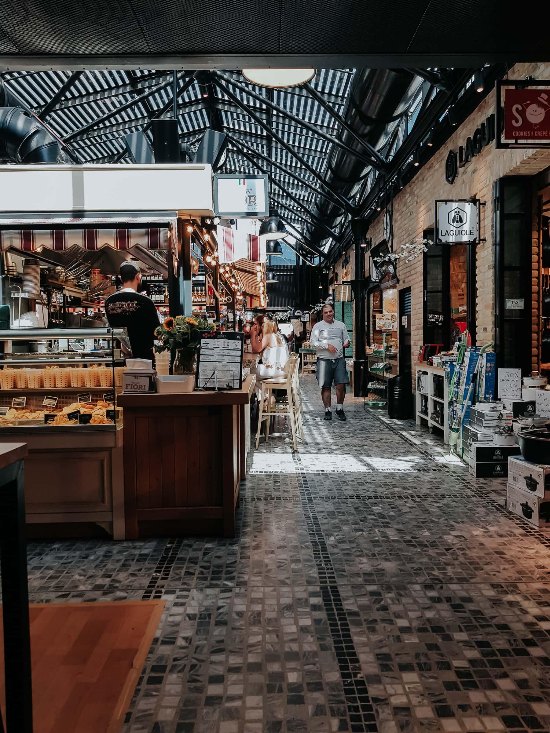 Tel Aviv Sehenswürdigkeiten Sarona Markt