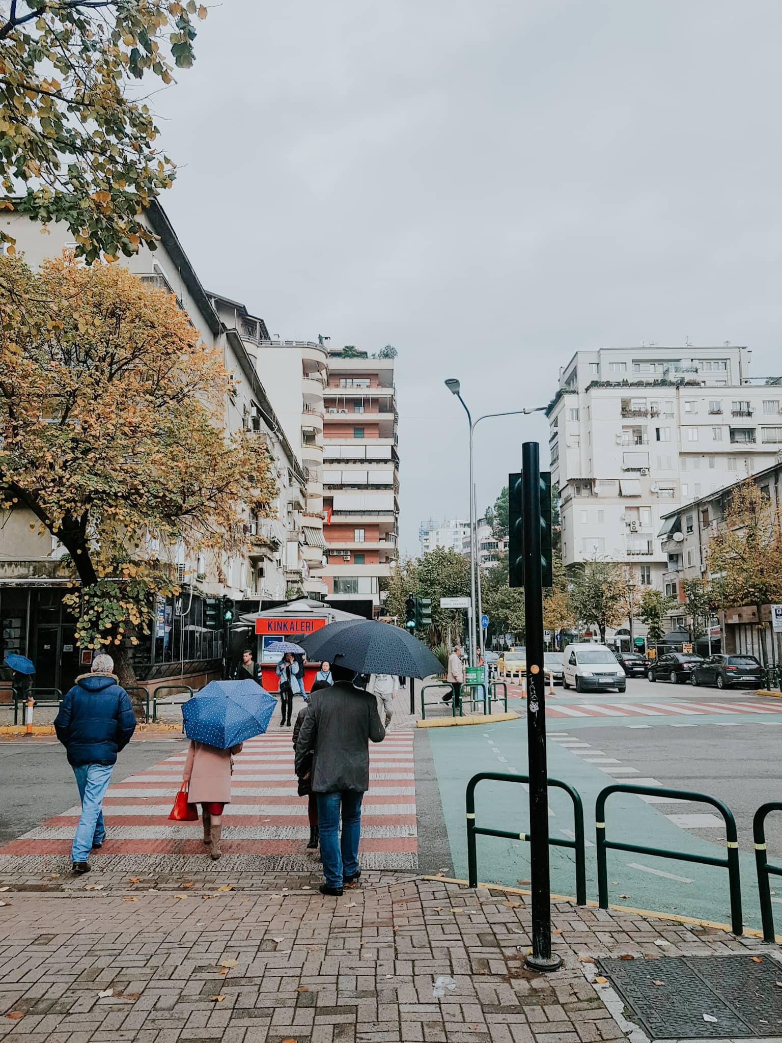Tirana Blloku Block Viertel
