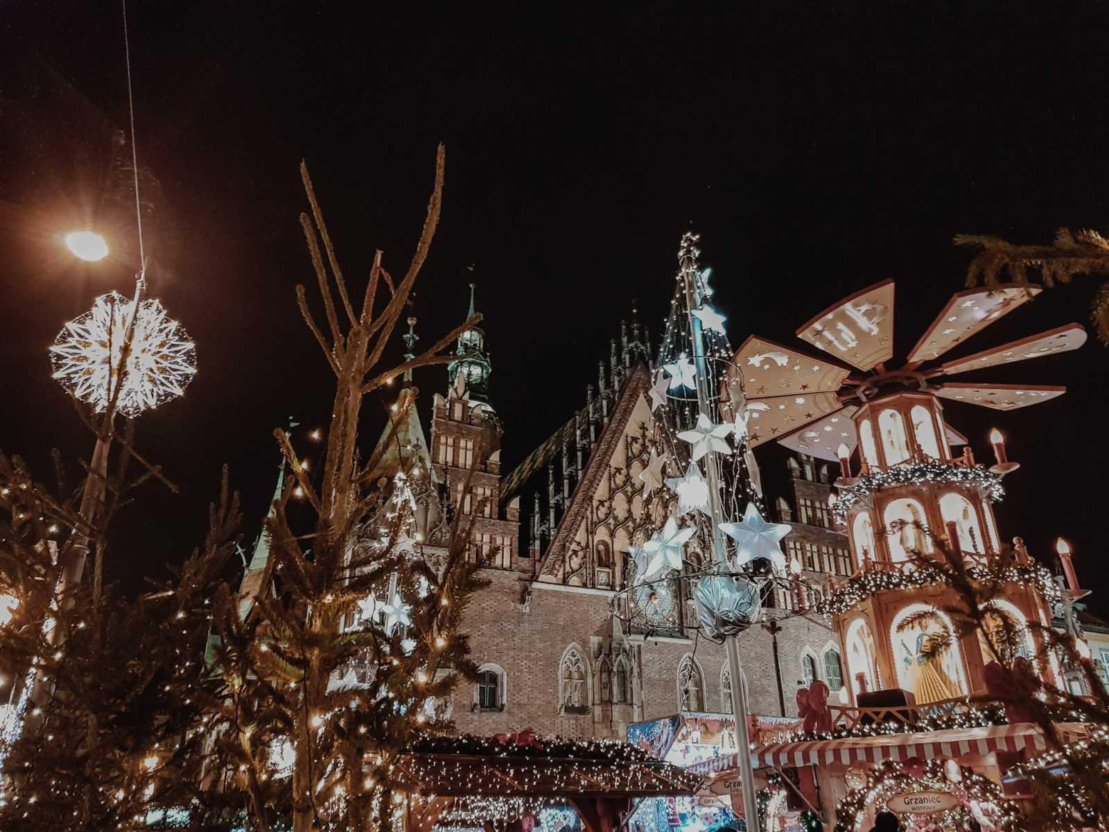 weihnachtsmarkt wroclaw