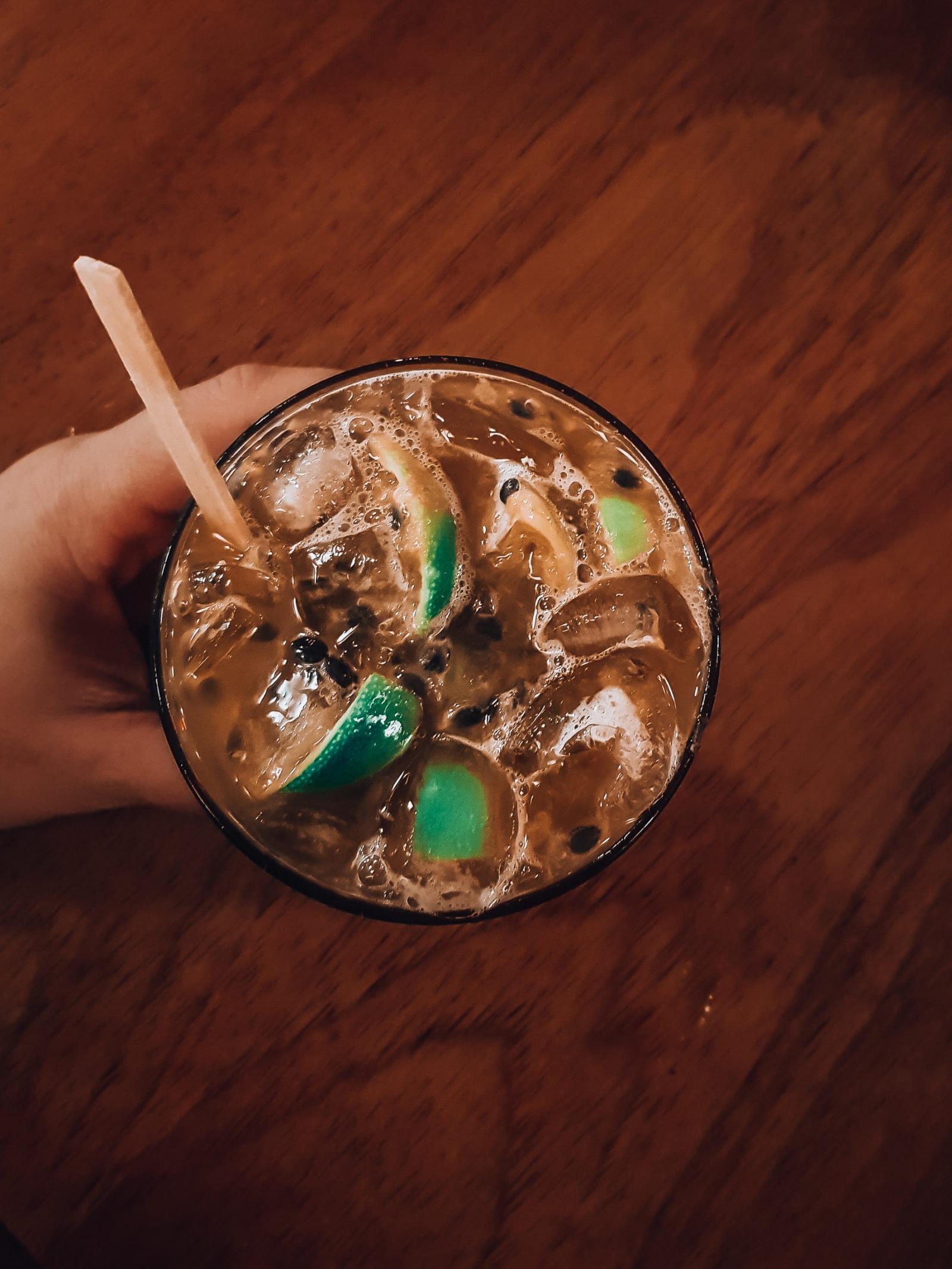 Cocktail Jorge Amado von oben
