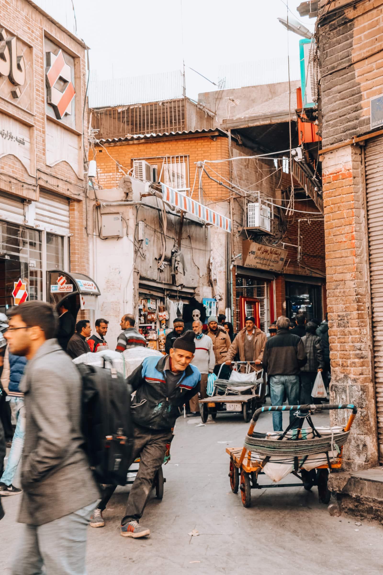 Verschollen im Labyrinth: Der Große Basar von Teheran 7