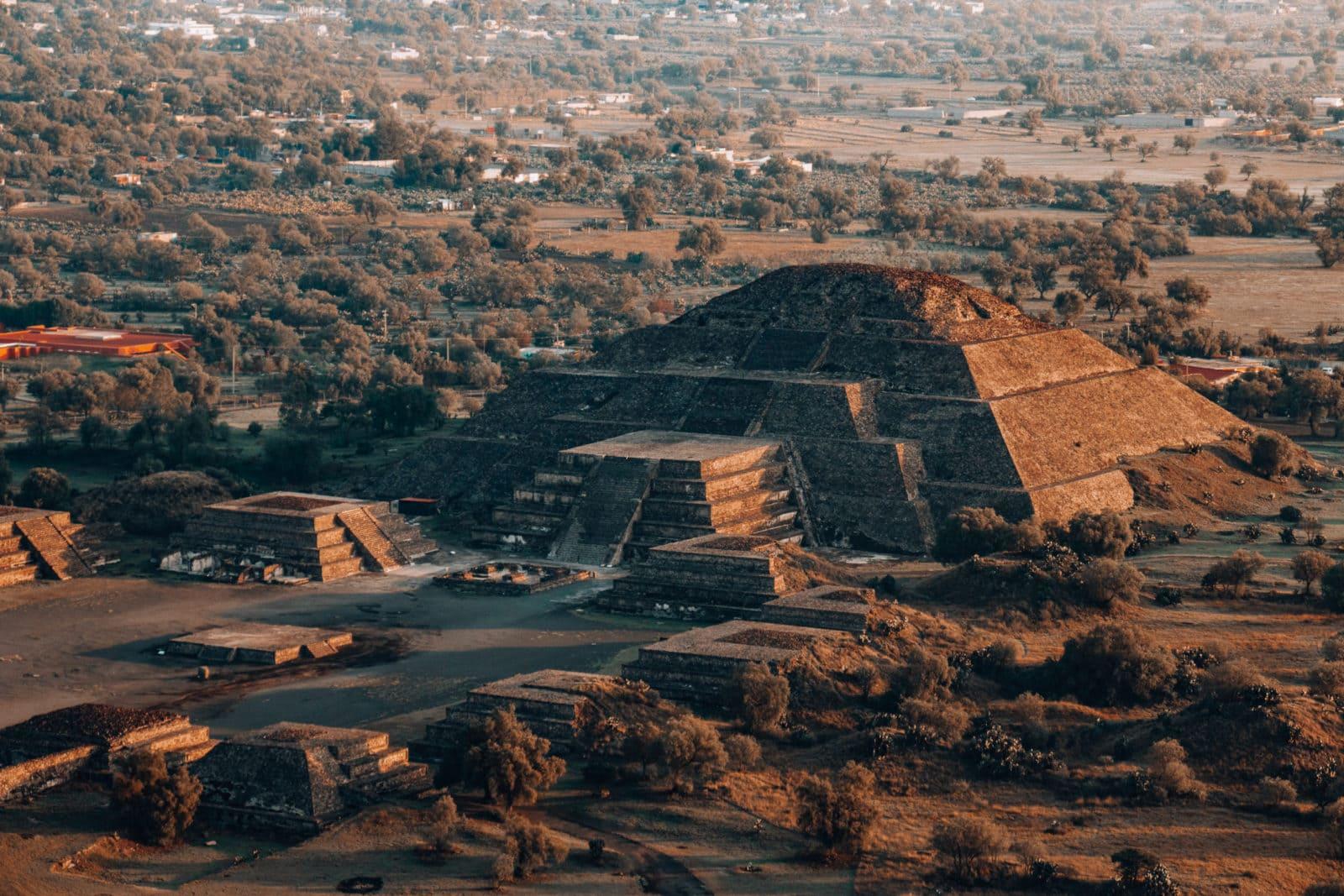 Pyramiden Mexiko City