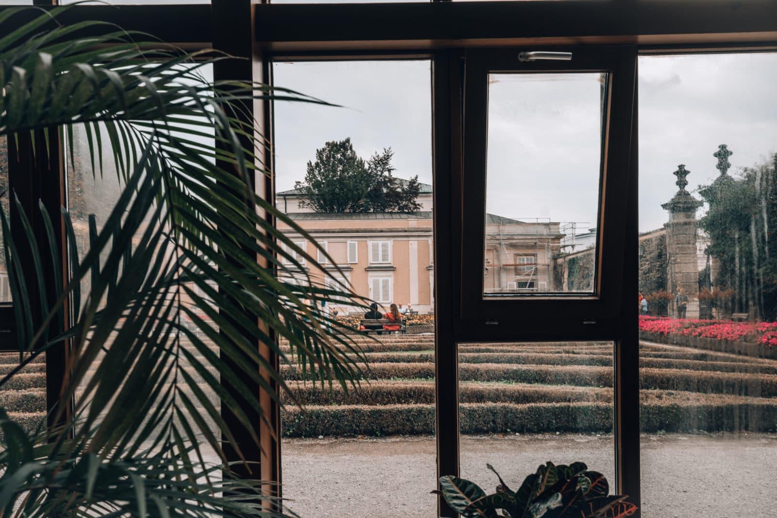 Palmenhaus im Mirabellgarten Salzburg