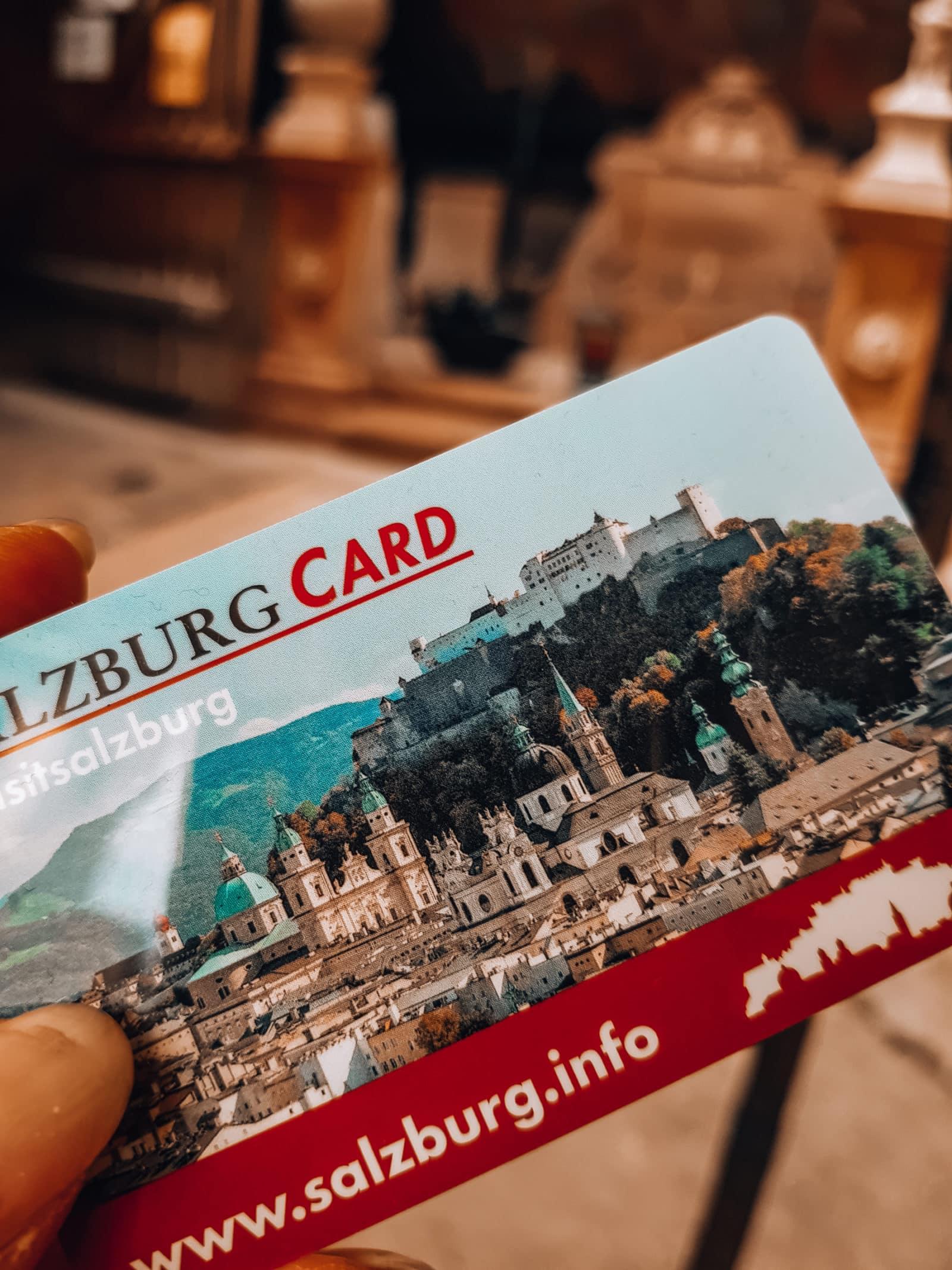 Salzburg Card Eintritt für Sehenswürdigkeiten