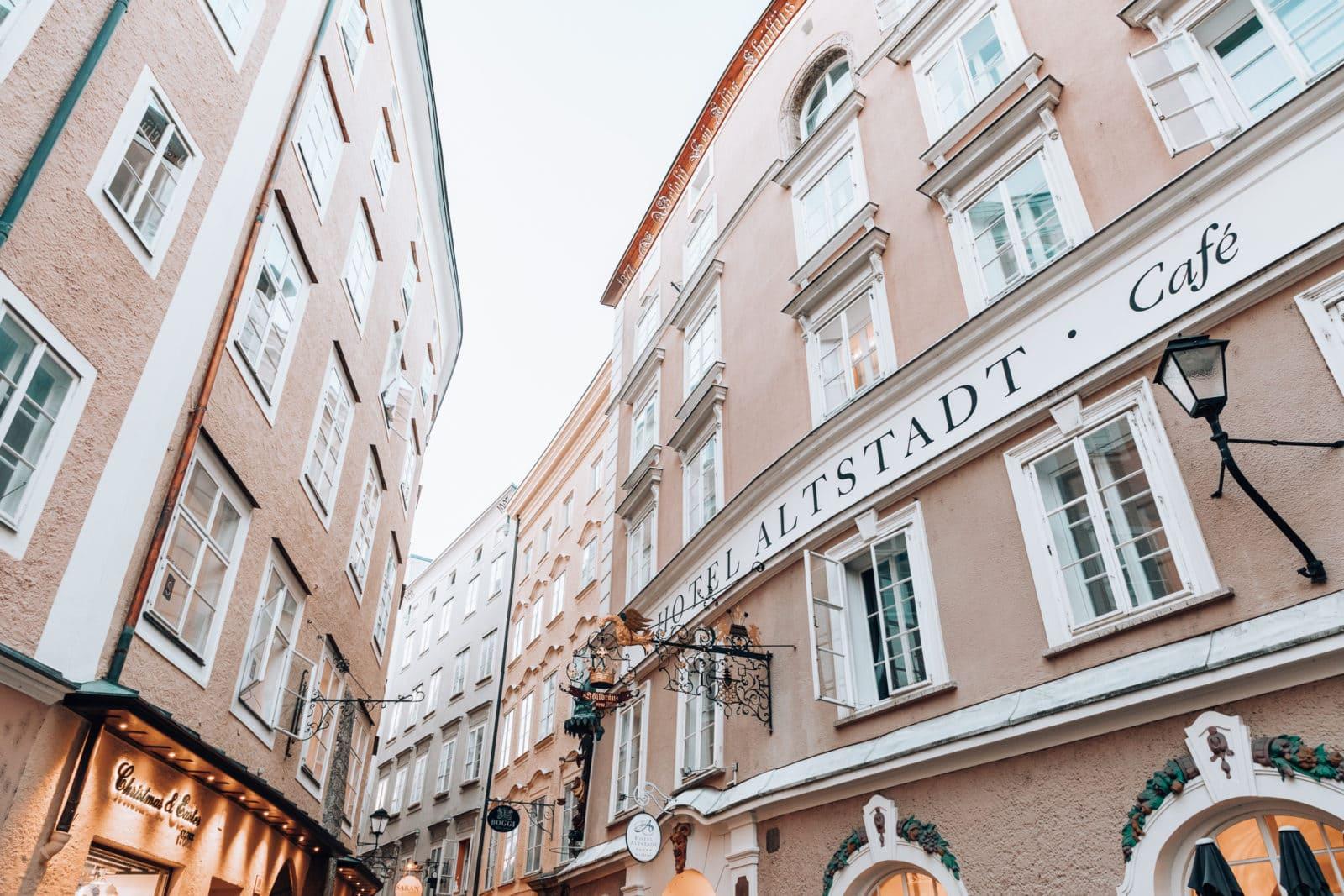 Hotel Altstadt in Salzburg