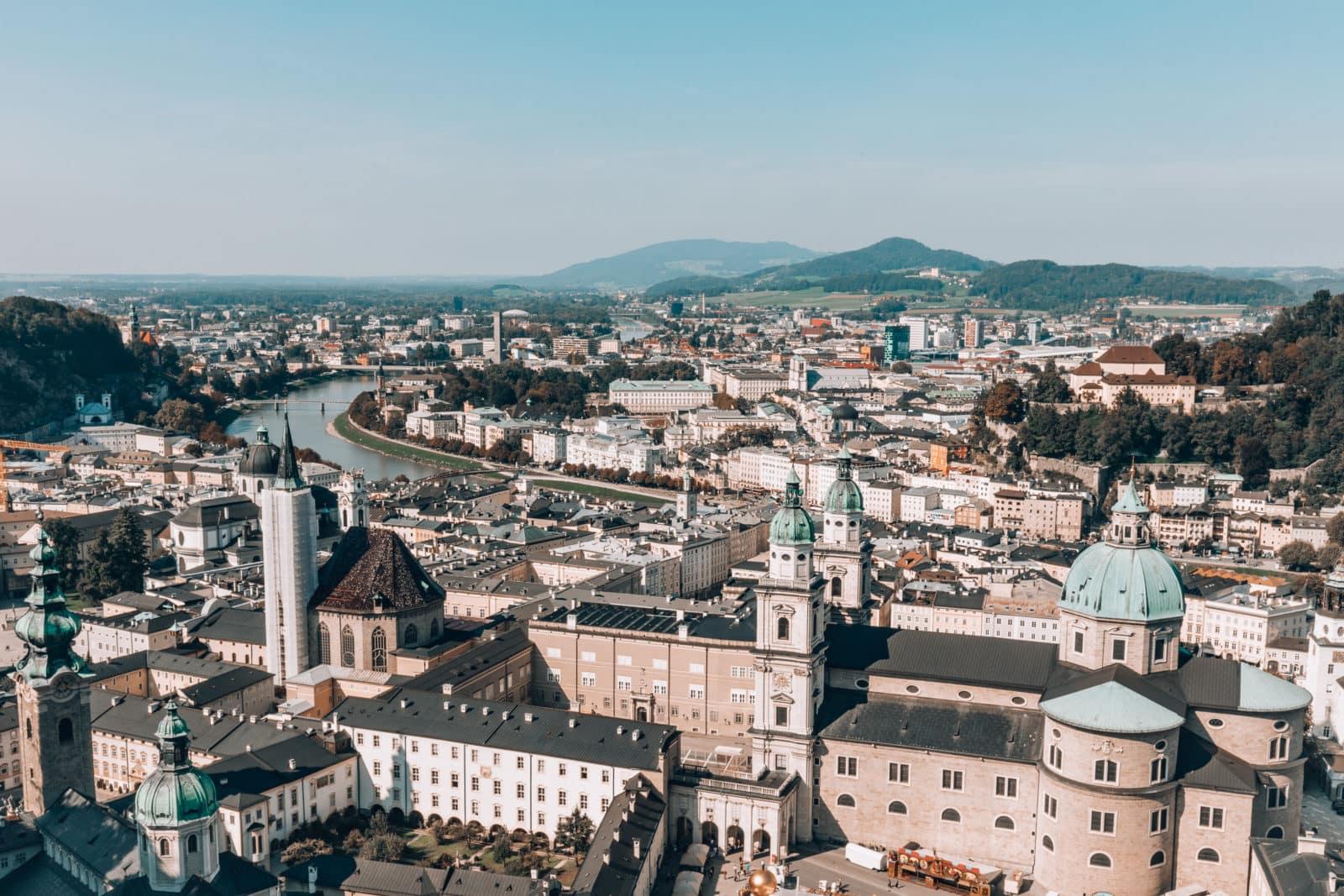 Sehenswürdigkeiten in Salzburg Österreich