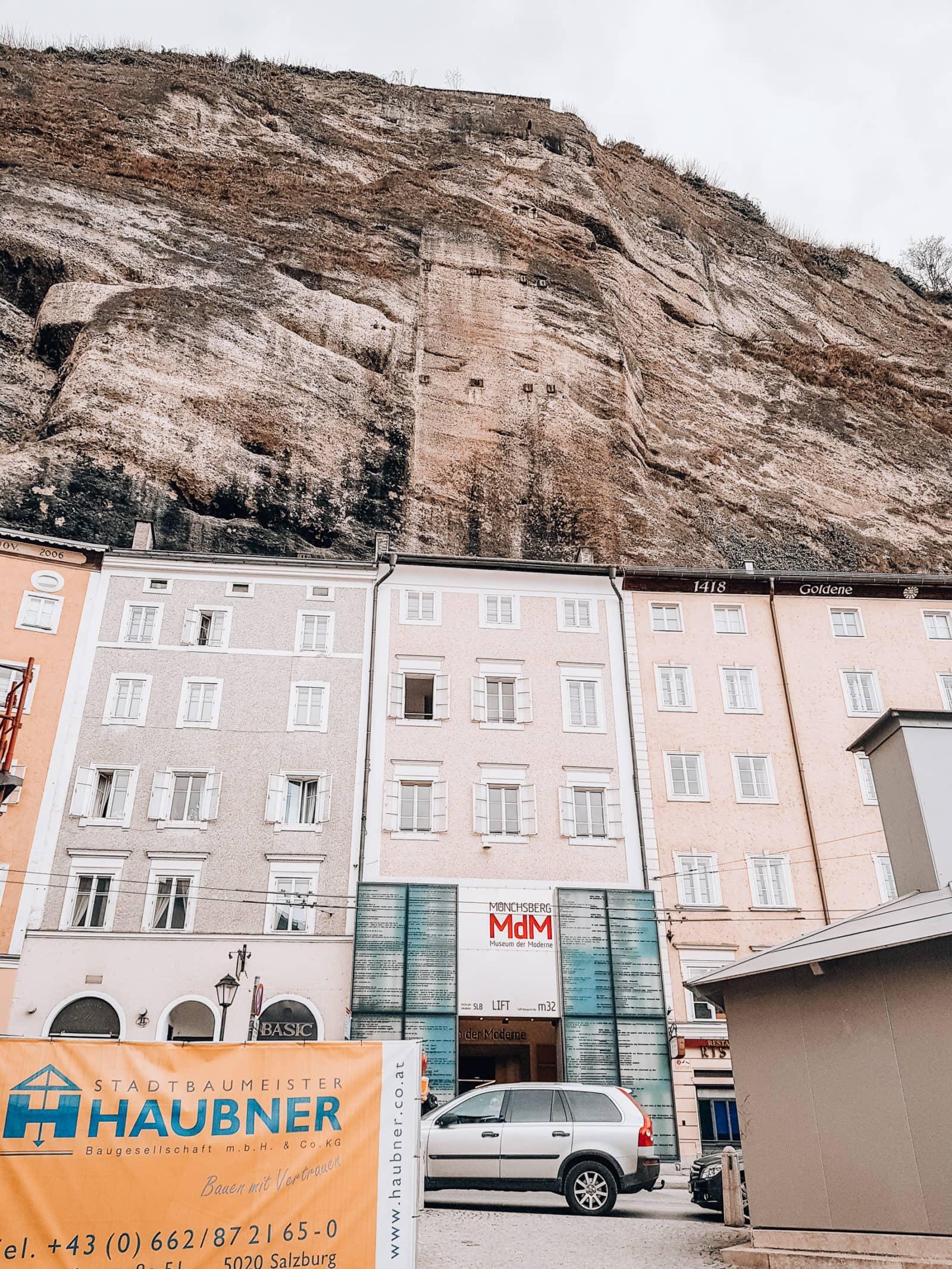 Salzburg Sehenswürdigkeiten Mönchsbergaufzug
