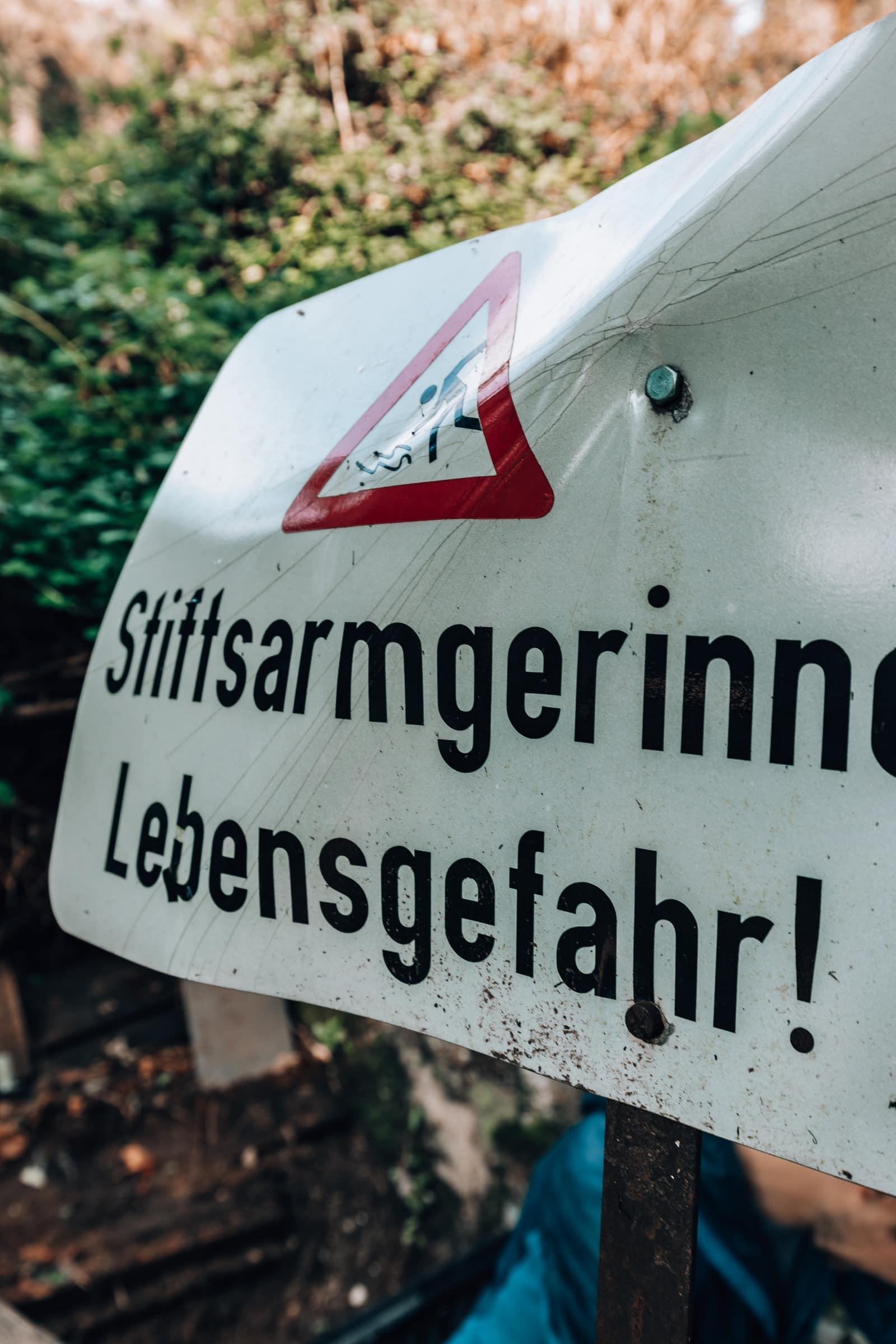 Almkanal Salzburg Stiftsarmstollen