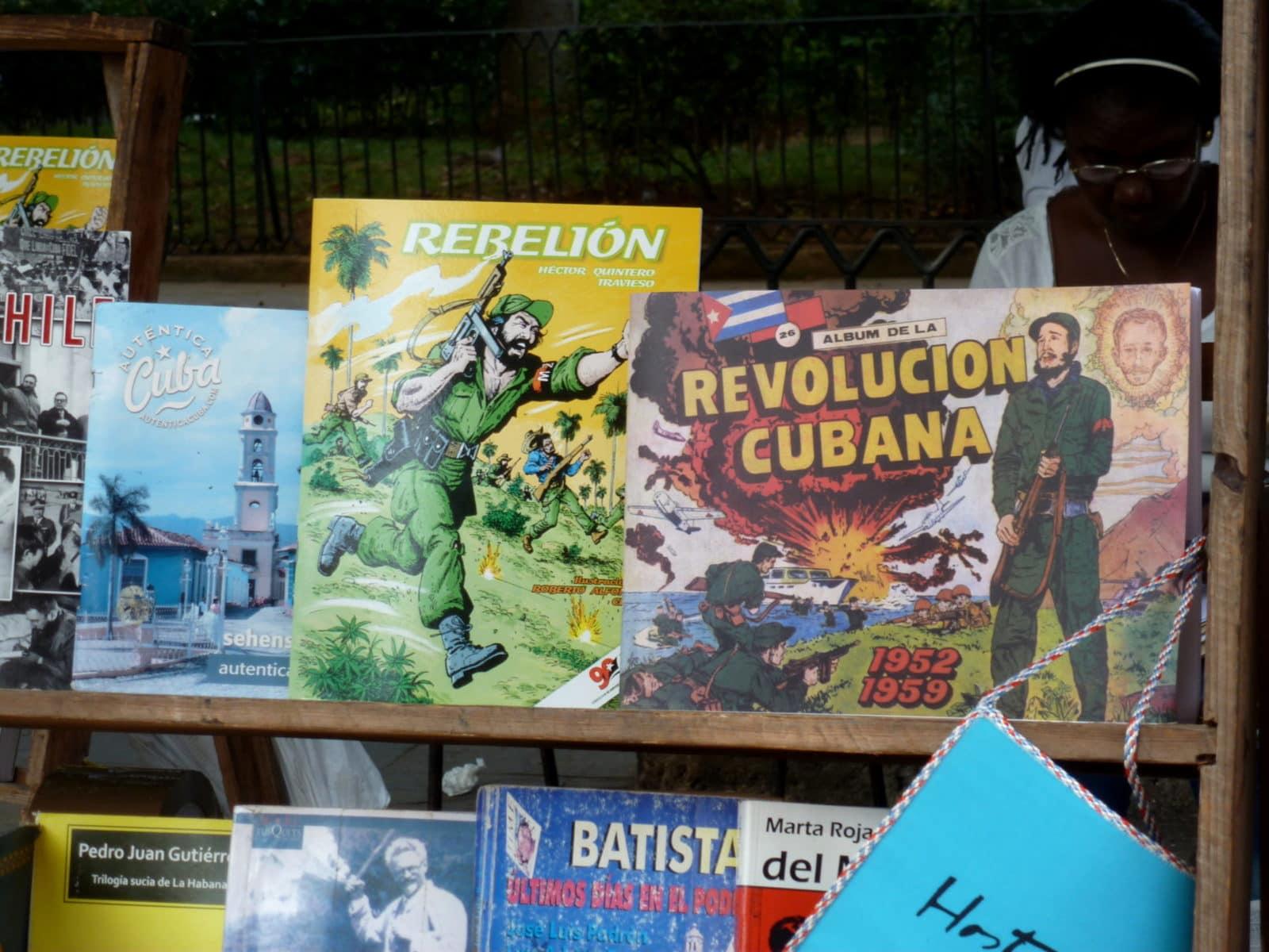 Kuba Revolution Bücher in Havanna