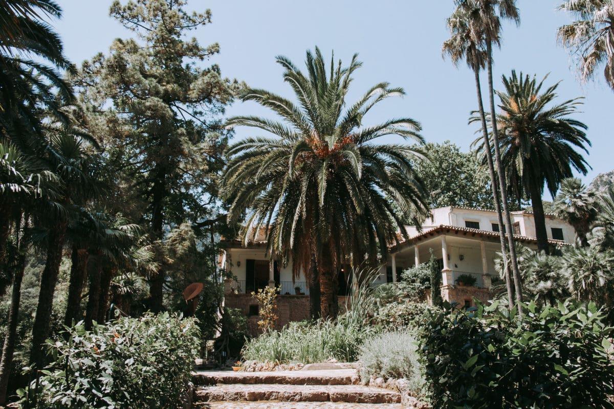 Herrenhaus Jardines de Alfabia Mallorca