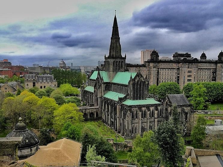 Glasgow Sehenswürdigkeiten St. Mungo's Cathedral
