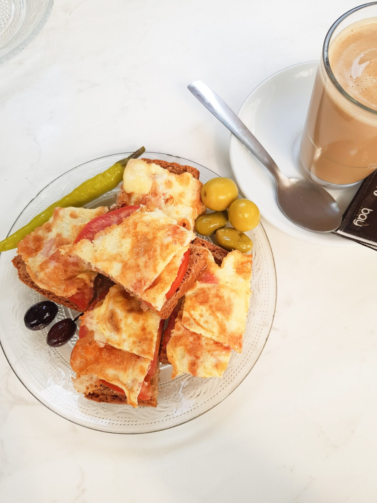 Pa am Oli bread with tomatoes and oil Mallorca