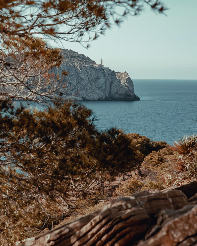Sa Dragonera lighthouse Mallorca